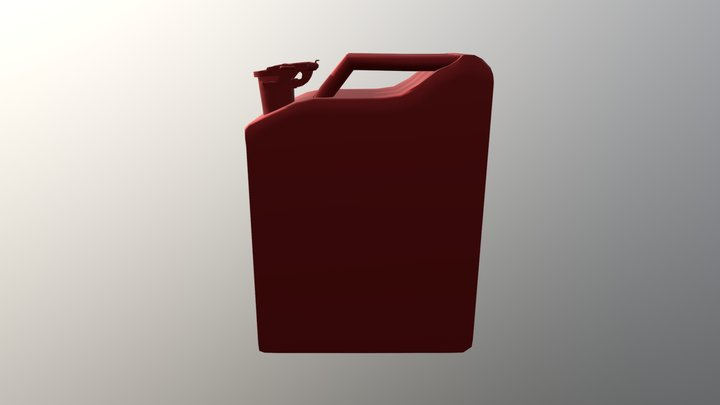Gas Can1 3D Model