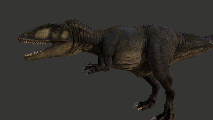 Carcharodontosaurus 3D Model