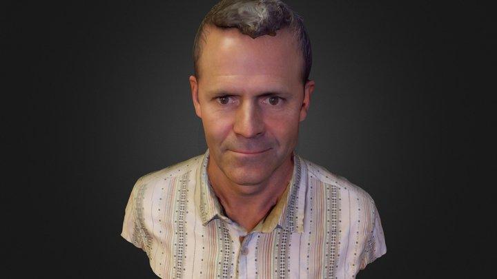 John D 3D Model