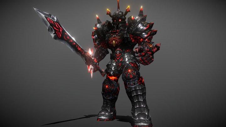 3DRT - Dark knights pack 3D Model