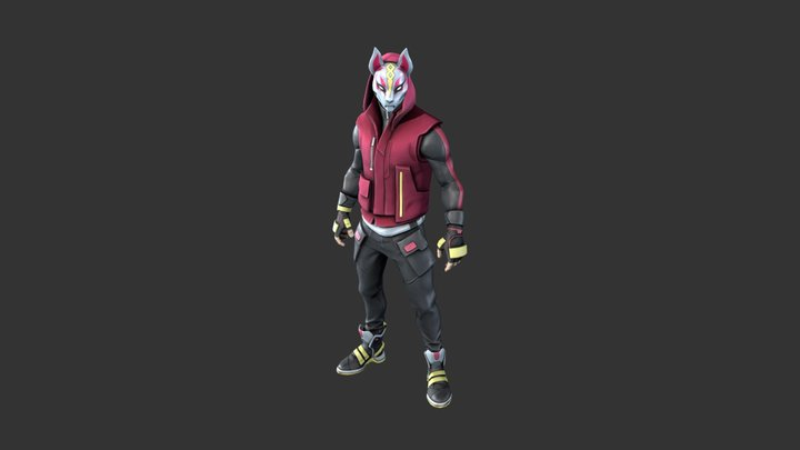 Drift Outfit (Stage #4) 3D Model