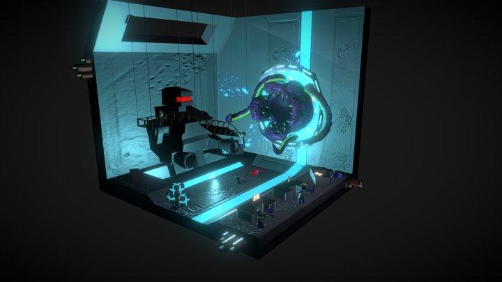 Cubical - Lab Terror 3D Model