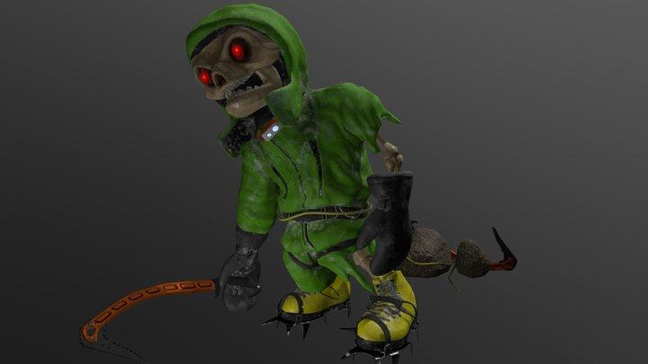 Zombie Climber 3D Model