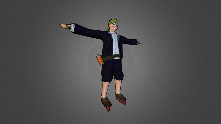 Burnout businessman [WIP] 3D Model