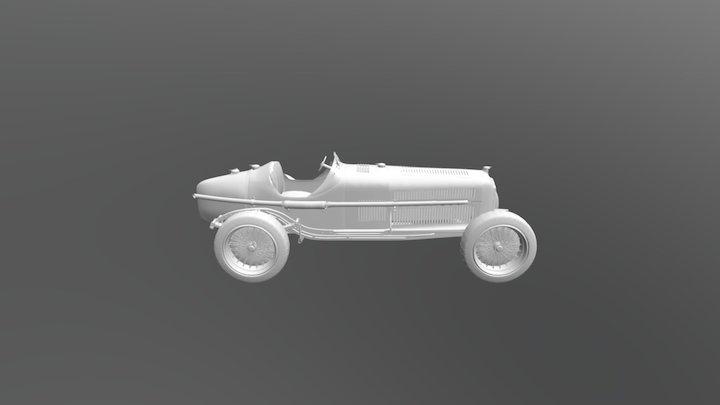 Alfa Romeo P3 3D Model