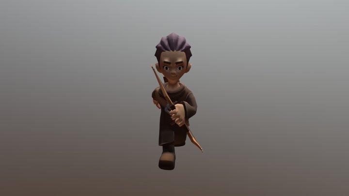 Run 3D Model