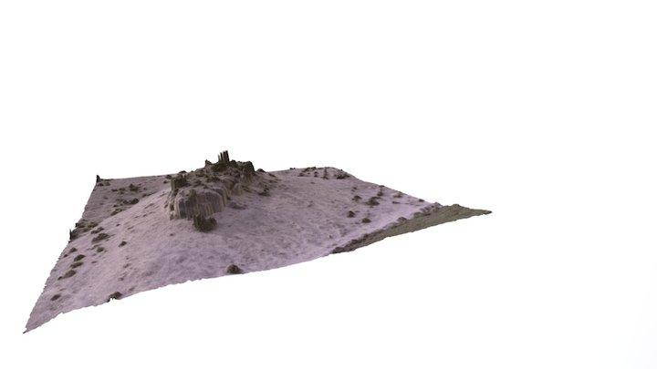 Montagne, Cévennes France (Low Definition) 3D Model