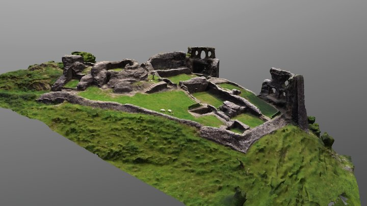Dryslwyn Castle 3D Model