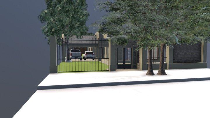 Proyecto Vivienda Familia Meza 3D Model