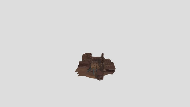 Tatooine Map 6 3D Model