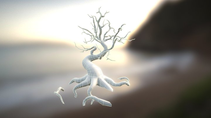 Fantasy Tree 3D Model