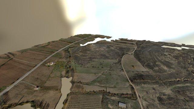 Cerro del Cabezuelo, Cañete, Cuenca 3D Model