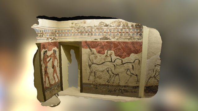 Minoan Boxers Fresco