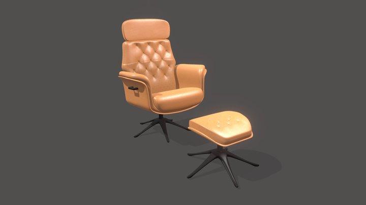 Flexlux Armchair 3D Model
