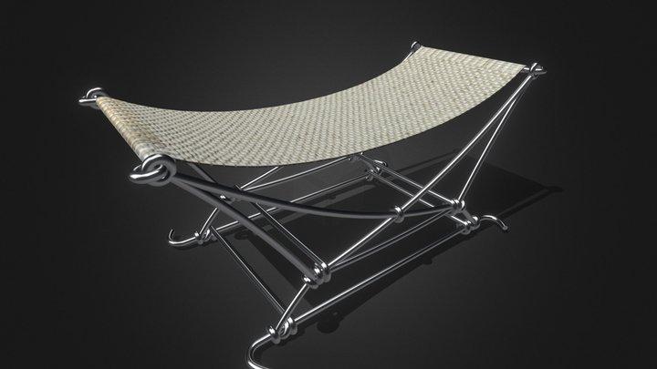 Minimal Camping Chair 3D Model