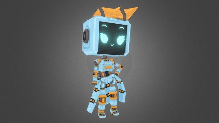 E-Bot 3D Model