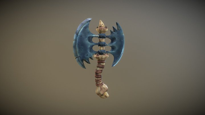 The Dragon wing 3D Model