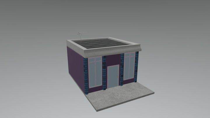 Pastry Panzer Panic! - Strip Mall 3 3D Model