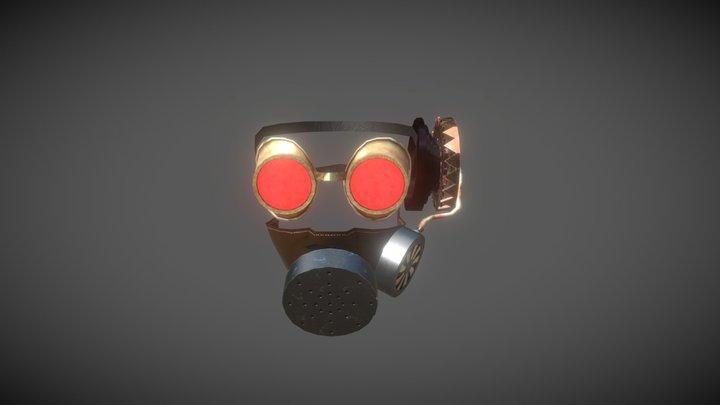 Mascara do Doutrinador Estilo SteamPunk 3D Model
