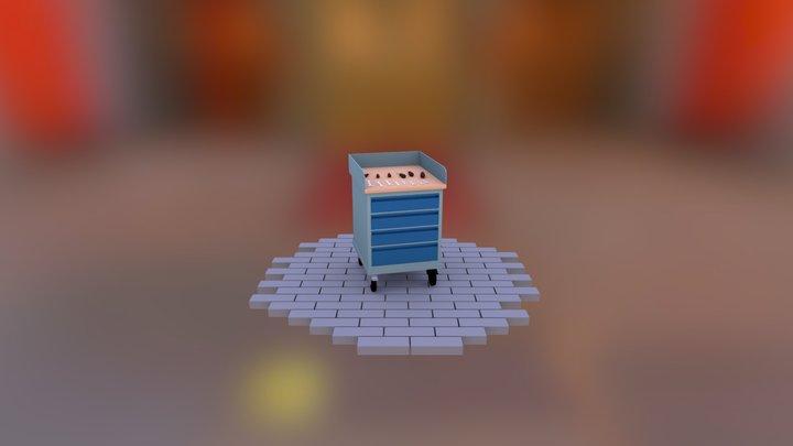 Garage Tools 3D Model