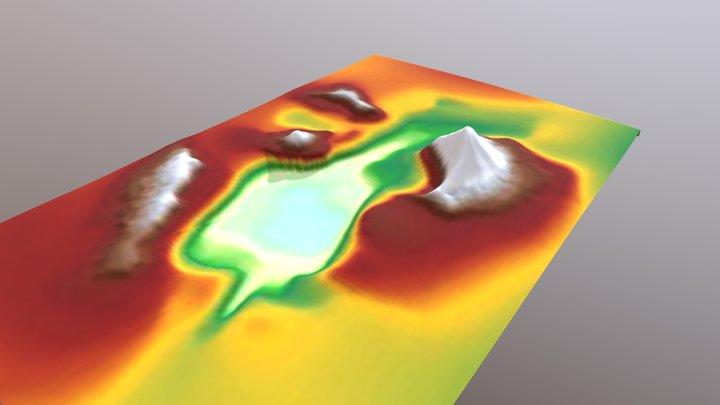 Krakatau 3D Model