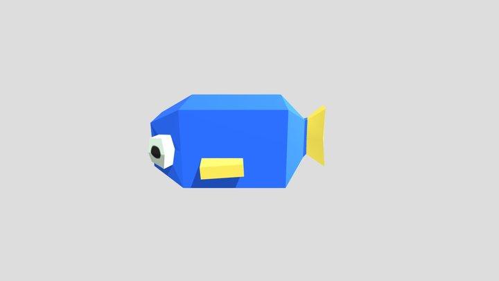 Simple Fish Model 3D Model