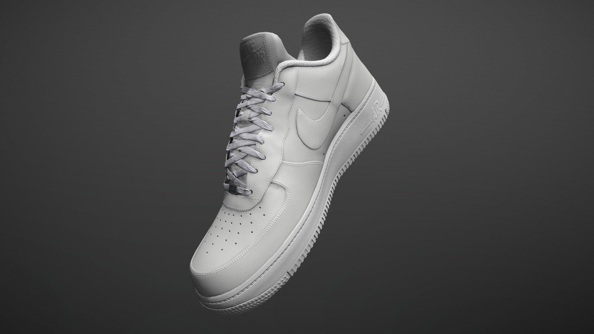 Pocos Último pulgada  Nike Air Force 1 - 3D model by Farmer2012 (@Farmer2012) [556e5c1] -  Sketchfab