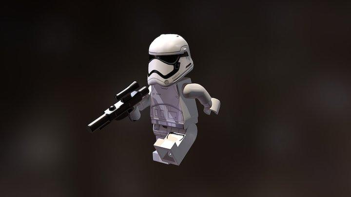 LEGO First Order Stormtrooper 3D Model