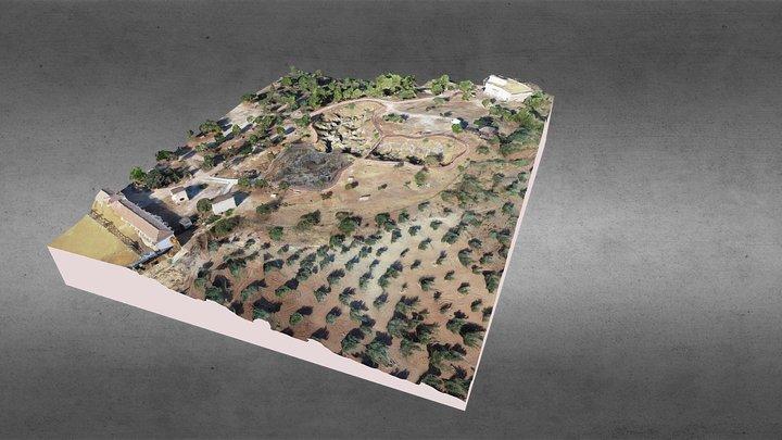 Canteras Cerro Bellido - Casariche, Sevilla 3D Model