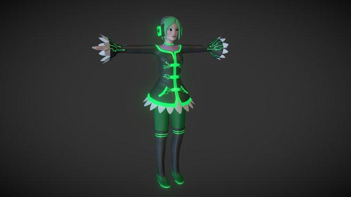 "Recoil: Character - ""Rose"" 3D Model"