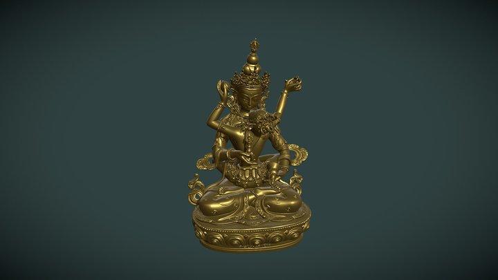 Statuette Boudhiste / Yab-yum 3D Model