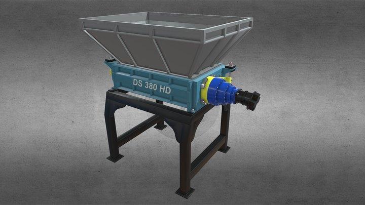 DS 380 HD Гидравлический привод 3D Model