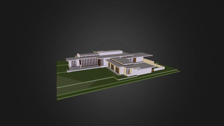 The Rosenbaum House - Final 3D Model