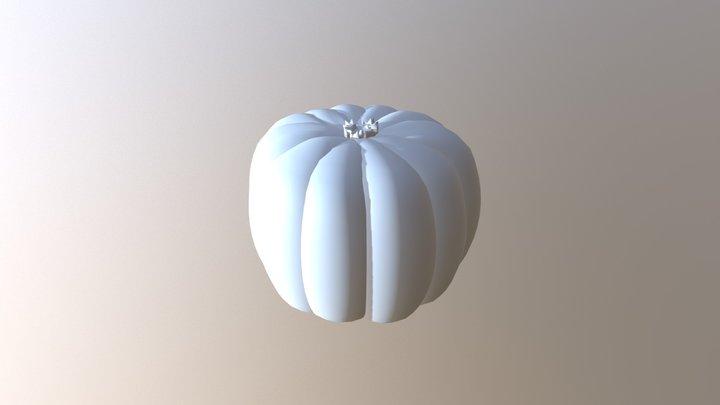 かぼちゃ(by さい) 3D Model