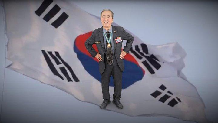 전북동부보훈지청 6.25 70주년 손양기 참전용사님 3D Model