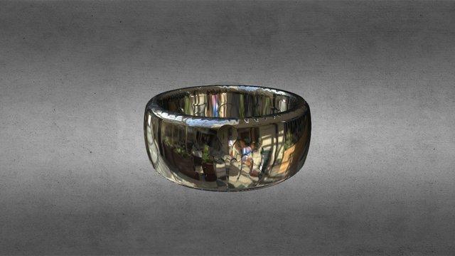 Bond 2015 007 Spectre Ring 3D Model