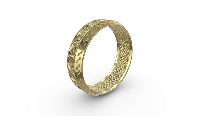 Daisy Ring 3D Model