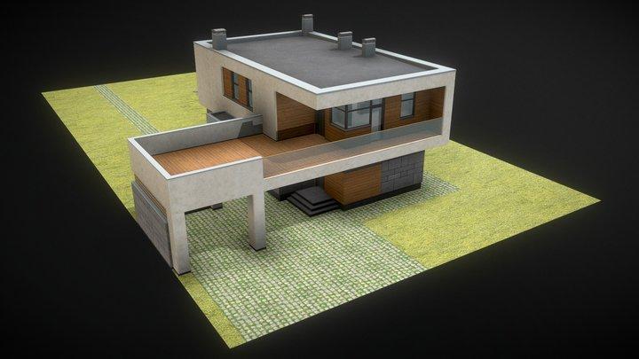 H1 3D Model