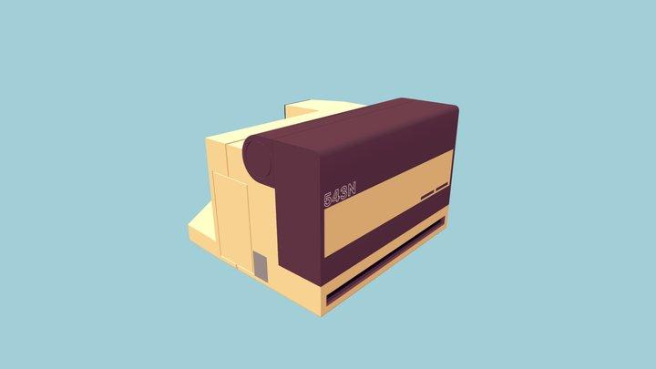 Max's Polaroid Camera 3D Model