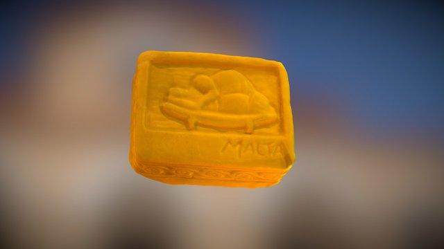 Maltese Soap Test - laser scan 3D Model