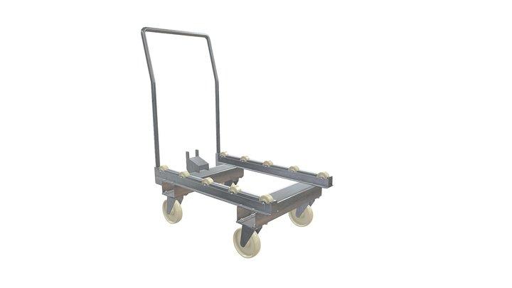 Тележка 3D Model