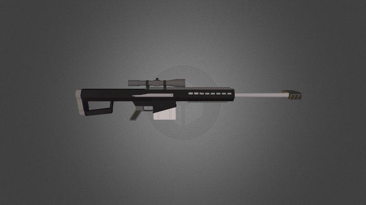 Barrett .50 3D Model