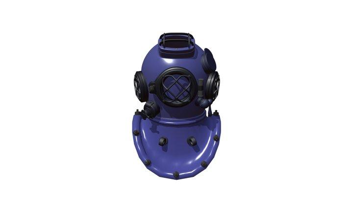 Diving Helmet Study 3D Model