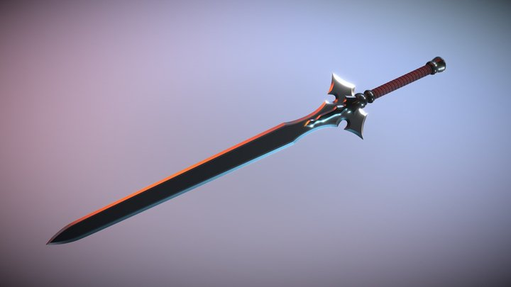 Kirito's ALO Sword 3D Model