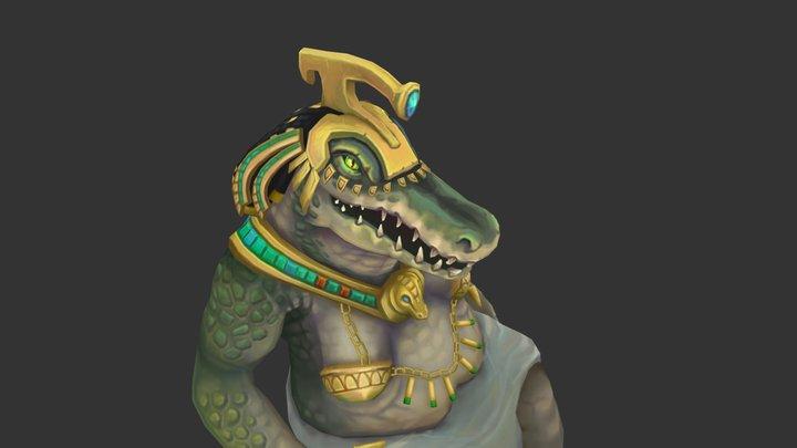 Runescape - Crondis 3D Model
