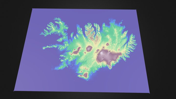 Iceland earthquakes 14 Sep to 13 Oct 2013 3D Model