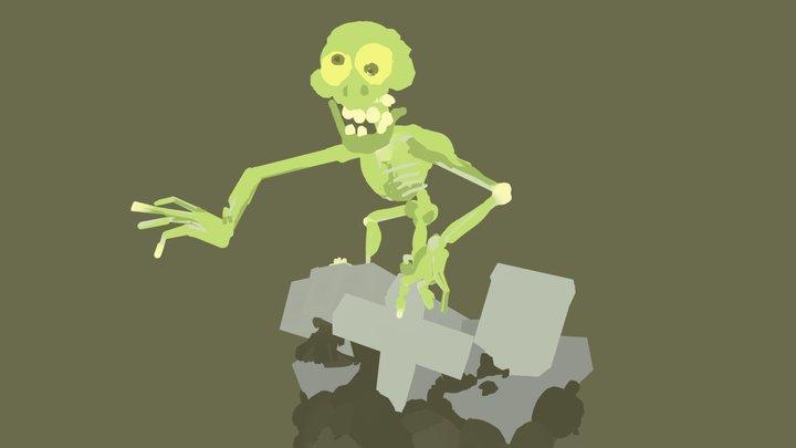 argh im a zombie 3D Model