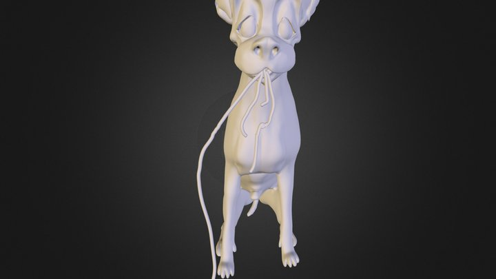 The Tramp  3D Model