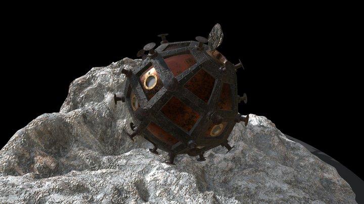 Cavorite Sphere 3D Model