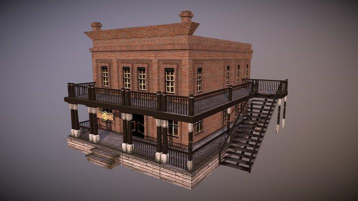 Saloon in Almeria 3D Model